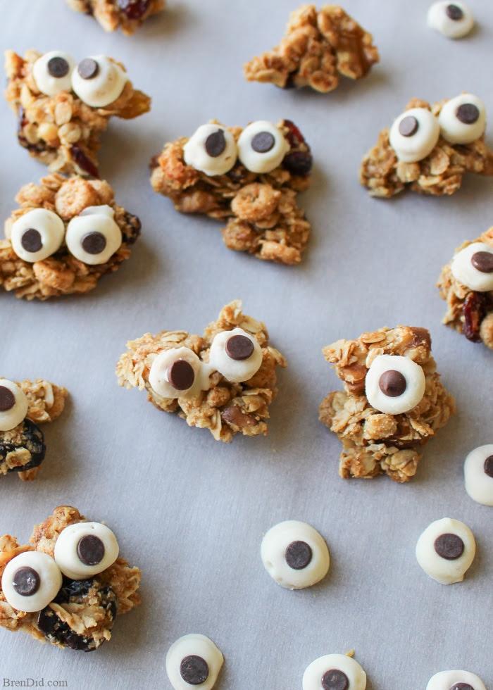 Healthy Halloween Treats for Kids: Maple Nut Granola ...