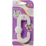 Dreambaby E-Z Check Secure A Lock White