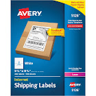 Avery Shipping Labels w/Ultrahold Ad & TrueBlock, Laser, 200pk White