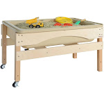 Wood Designs 11835TN Absolute Best Sand & Water Sensory Center without Lid
