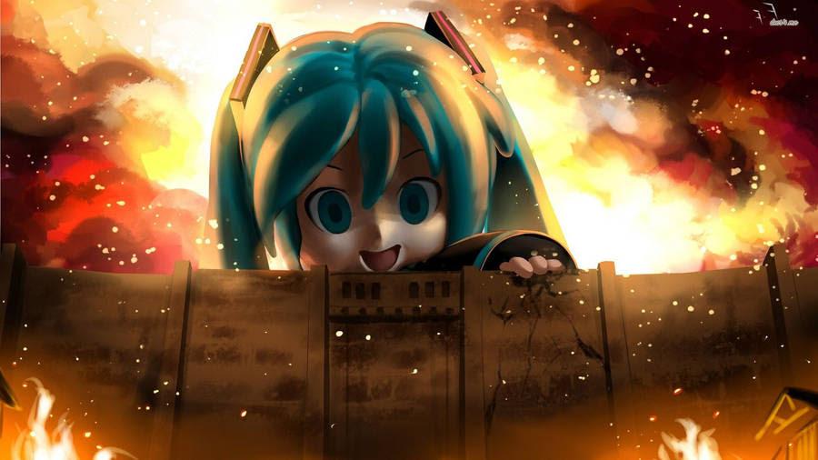 Anime Attack On Titan Mikasa