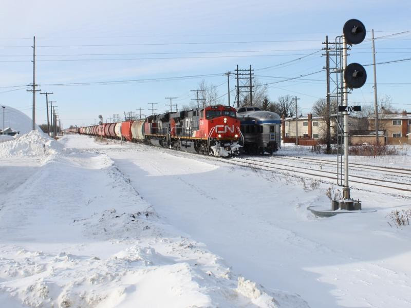 CN 2254 in Winnipeg