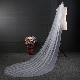 NZUK cheap Real Photos 3M or 2M White/Ivory Wedding Veil