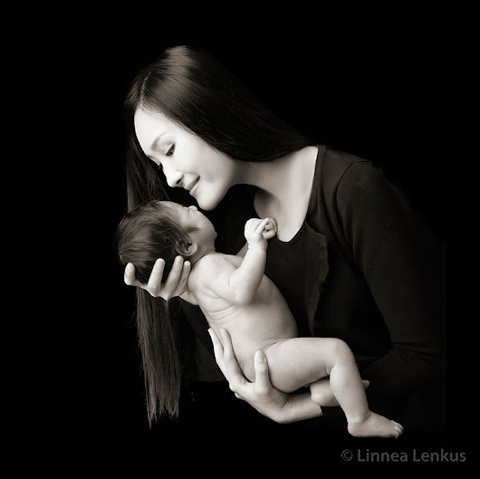 Linnea Lenkus Fine Art Portrait Studios — Baby portraits always look so calm, but you should...