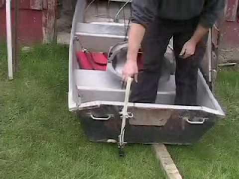 Pontoon Transducer Mounting Bracket