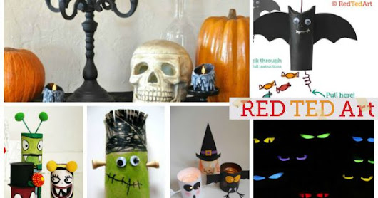 20 Halloween TP Roll Crafts - Red Ted Art's Blog