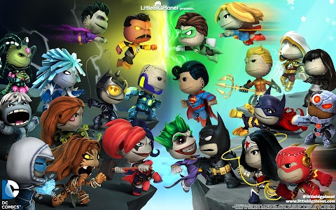 Little Big Planet Dc Comics