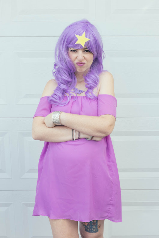 What I Wore: Lumpy Space Princess Cosplay
