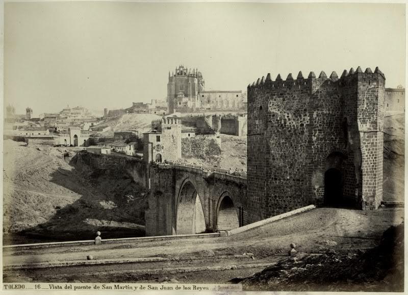 Puente de San Martín hacia 1875. Fotografía de Jean Laurent