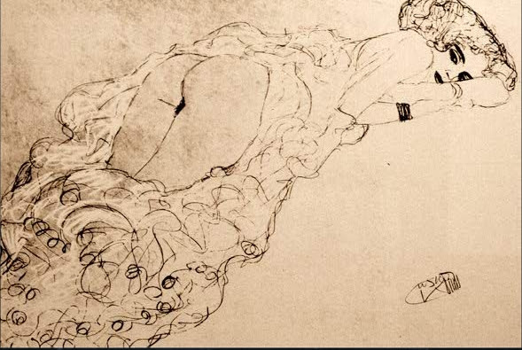 Gustav Klimt erotica sensual30