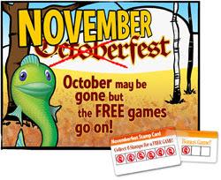 NovemberFest at Big Fish Games