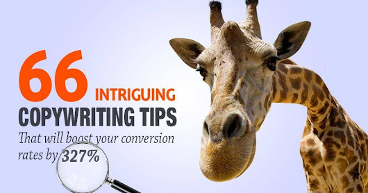 66 Copywriting Tips that Will Boost Your Conversion Rates by 327%