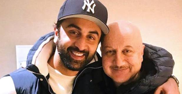 Anupam Kher Bonds With Ranbir Kapoor in Newyork. Talks about their films and life