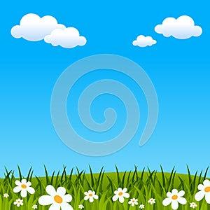 Easter or Spring Background
