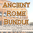 Ancient Rome Unit Bundle {6th/7th gr}