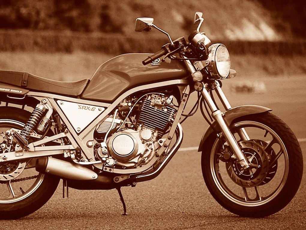 Retrospective 1986 Yamaha Srx600 Cycle World