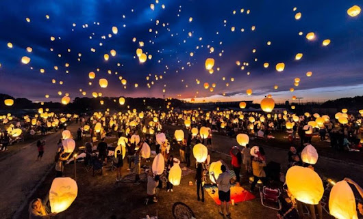 The Lantern Fest at Brookedale Farms - Admission, Lantern, Smores Kit & More $28 (Retail $75) - STL Mommy