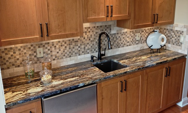 Manufactured Stone Countertops : Slab granite countertops manufactured