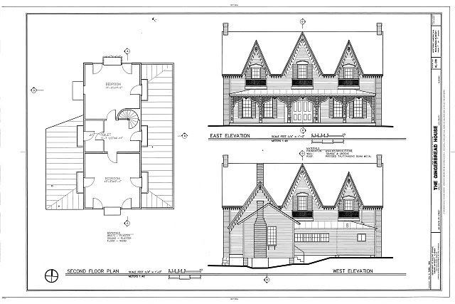 HABS AL-991 (sheet 3 of 7) - Gingerbread House, 405 South Ninth Street, Opelika, Lee County, AL