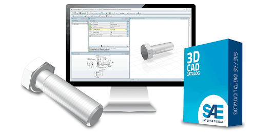 Society of Automotive Engineers (SAE) Launch Authorized 3D CAD Models of Aerospace Standards built by CADENAS PARTsolutions - CADENAS PARTsolutions