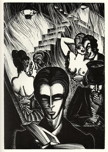 Graphic Novel illustration by Lynd Ward