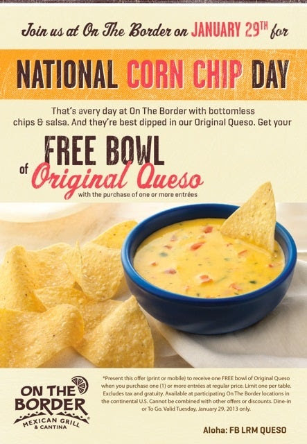 National Corn Chip Day 2013