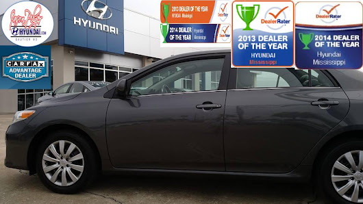 New #Toyota #Corolla for Madison's Christmas present...her 1st car!  Of course she got it only at #jasonpilgerhyundai  in #gautier   #mississippi