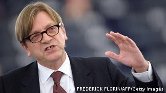 Ο επικεφαλής των Φιλελευθέρων στο Ευρωπαϊκό Κοινοβούλιο και πρώην πρωθυπουργός του Βελγίου Γκι Φερχόφστατ