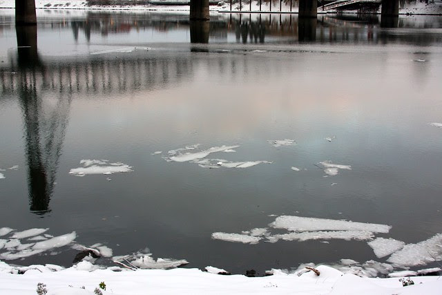 ice, willamette river