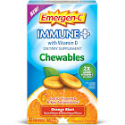 Emergen-C Immune+ Chewables Dietary Supplement Tablet with Vitamin D, 500 mg - 42 count