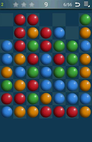 Screenshots of the Balls breaker for Android tablet, phone.