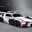 BMW Designs A 42-Wheel, 19-Engine Car To Fulfill One Child's Fantasy