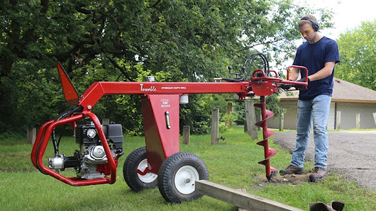 Towable Hydraulic Earth Drill - Lawn & Landscape