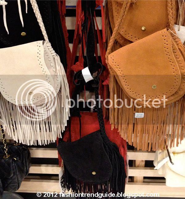 Brandy Melville fringe bags