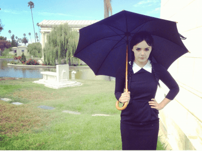 Adult Wednesday Addams is just perfect…