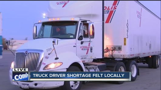 Companies trying to combat truck driver shortage