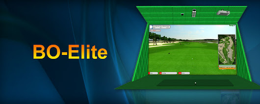 BOGolf Model BO-ELITE Golf Simulator