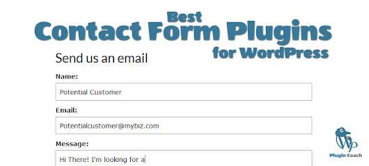 Best WordPress Contact Form Plugins | WP Plugin Coach
