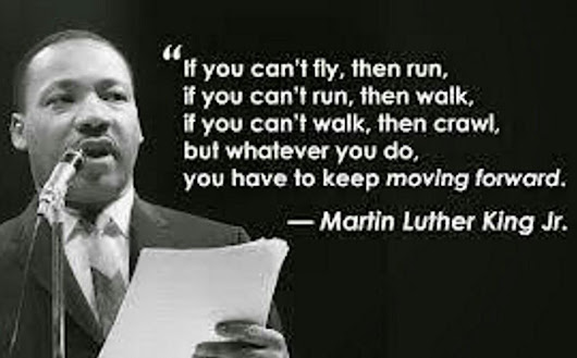 Happy Martin Luther King's Day!