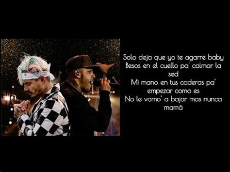 nicky jam   balvin  equis letra youtube