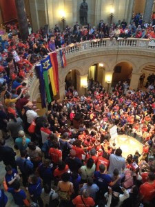 marriage equality wins at the state capitol