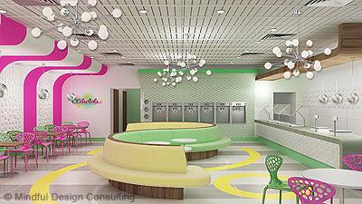 Interior Design of Yogurt Shops - Commercial Interior Design News ...