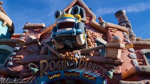 Disneyland Resort, Disneyland, Roger, Rabbit, Car, Toon, Spin, Mickey's, Toon, Town, New, Costumes