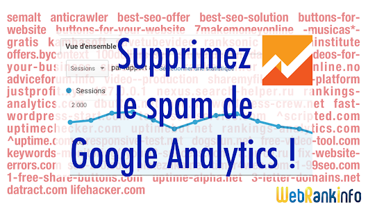 Bloquez enfin le spam Google Analytics (spam referrer, ghost spam)