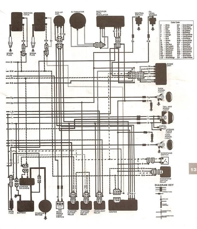 Yamaha Virago Starter Wiring