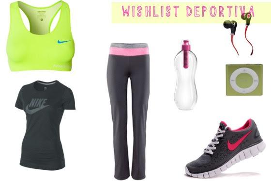 wishlist deportiva