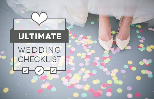 Wedding Day Check List - For Bride