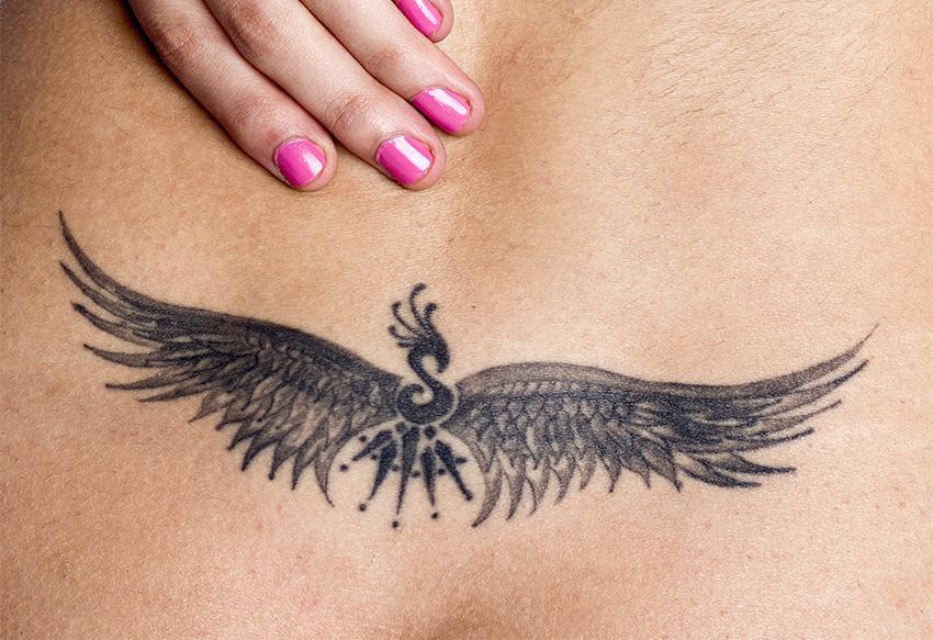 Wings Lower Back Tattoo Tattoo Bytes