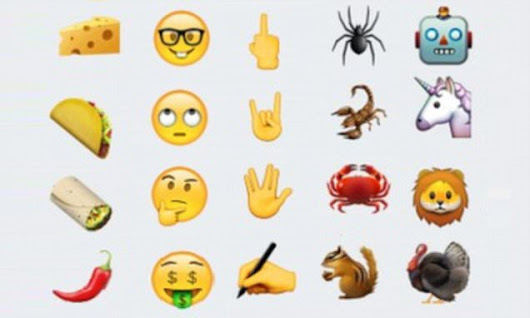 Cheese, taco, a robot and a UNICORN among new emoji coming to OS 9.1