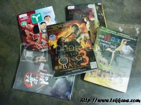 5 Original DVDs